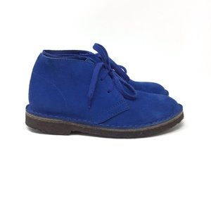 J. Crew | Crewcuts MacAlister Blue Suede Boots